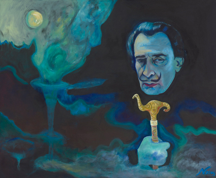Dali by Nina Vox oil on canvas 2015